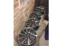 17'' Vauxhall alloys (RARE) £220 ono