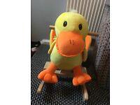 Duck rocking seat