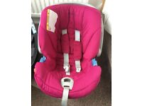 Cybex Aton car seat plus isofix base and accessories