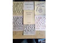 Aaron Copland - 20th Century Piano Scores (7 pieces)