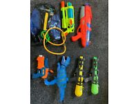 3 water pistols and 3 for free