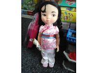 Disney mulan doll