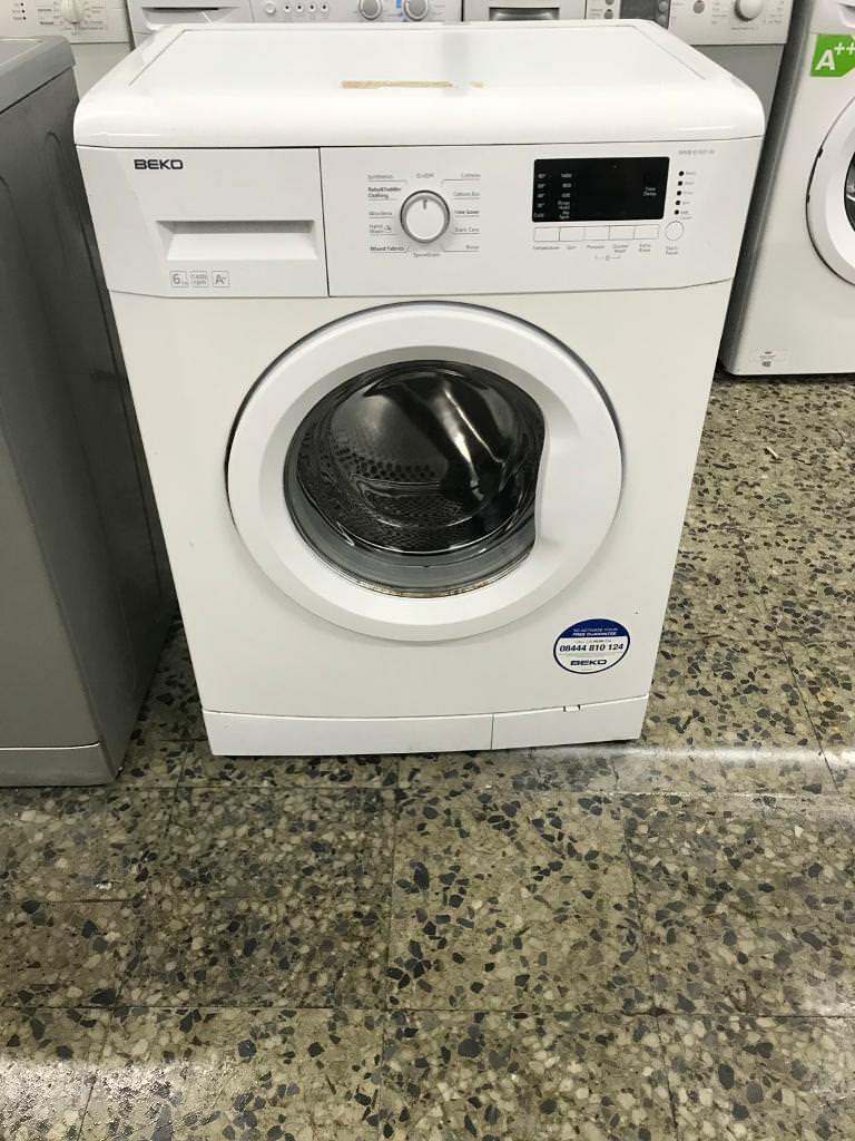Beko washing machine 6kg 1400rpm A+ Full Working very nice 4 month warranty free delivery and instal