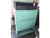 Large filing cabinet storage furniture good condition