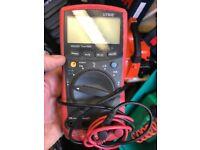 Digital test meter