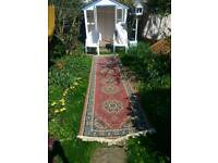 1m x 4m rug in excellent condition