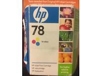 HP inkjet cartridge no 78 trim colour