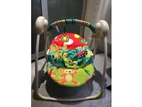 Bright starts baby swing great condition