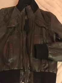 100% Leather Jacket Revolution black