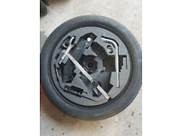 Space saver wheel & tool kit Audi A3 + more.