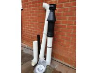 Central heating boiler flow kit