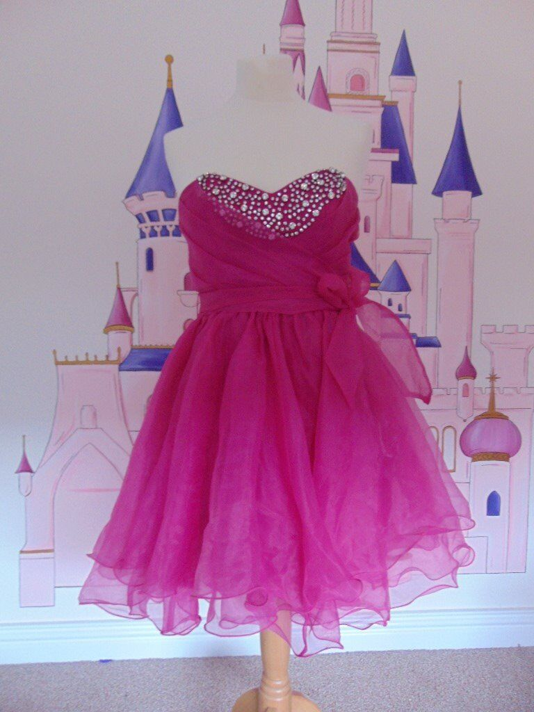 Pink Lipsy Prom Dress Size 10 only £40 | in Brimington, Derbyshire ...