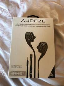 Brand new Audeze iSINE 10 In-Ear Planar Lightning Headphone