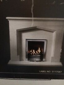 NEW (still boxed) Baxi gas fire