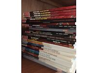 Collection of 40 Marvel Graphic Novels.