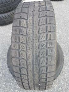 2 PNEUS HIVER - MAXTREK 185 65 14 - 2 WINTER TIRES