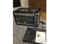 *BRAND NEW* 33litre mini oven and two ring hob ANDREW JAMES