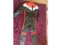 Ladies Motorcycle Leather Jacket & Trousers
