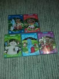 In the Night Garden DVDs