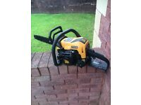 JCB 16 Inch Petrol Chainsaw. As New Condition