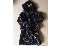 Dressing gown (M&S) age 4-5 Angry Bird Excellent condition ( Bury St Edmunds near A14)