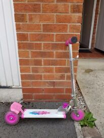 Light up scooter