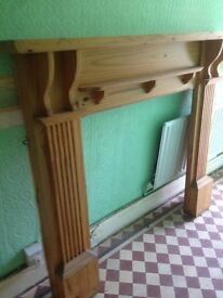 Solid Pine Fireplace surround