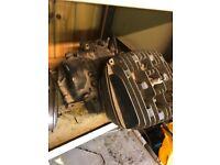 Suzuki TS125ER engine