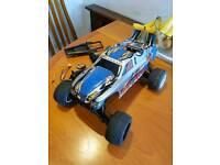 Traxxas nitro sport / Rustler nitro rc buggy spares or repair