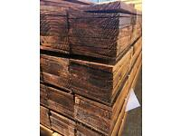Fencing wood, new timber, wooden fence panel, feather edge fence boards