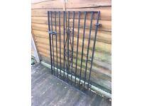 solid well built steel garden gate £20