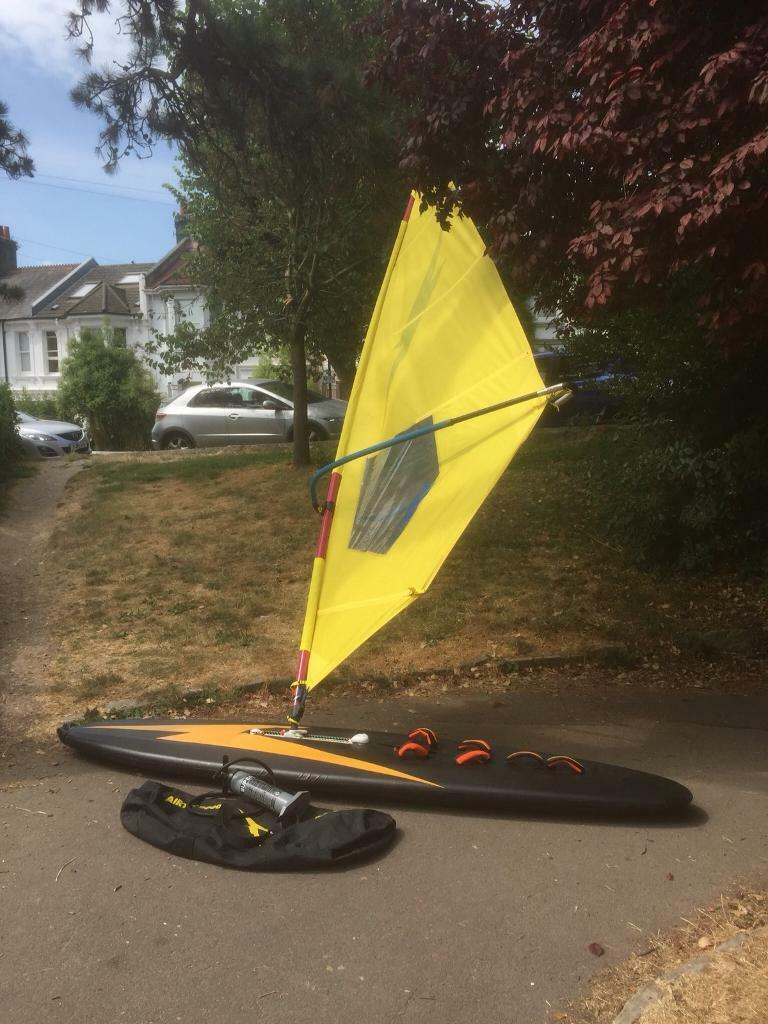 Inflatable Windsurfer | in Brighton, East Sussex | Gumtree
