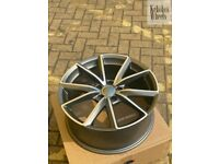 """*FINANCE AVAILABLE* 19"""" NEW RS4 STYLE ALLOY WHEELS AUDI VW A4 A5 A6 A7 A8 S4 S5 S6 MK2 MK3 TT Q3 Q5"""