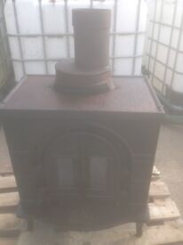 Wood solid fuel stove