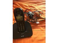 Landline Bt phone cordless perfectly working