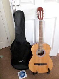CLASSICAL ACCOUSTIC GUITAR - AS NEW - 3/4 SIZE
