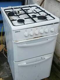 Gas oven hob cooker used condition working