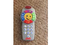 Fisher Price remote control toy