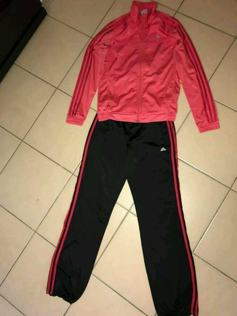 Addidas tracksuit size X's 8 to 10