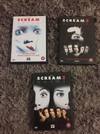 X3 scream dvds