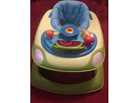 Chiccoo baby walker in clean and good condition