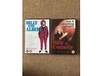 Billy Connolly DVDS.