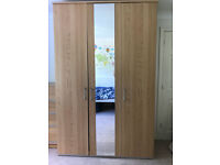 Large Bedroom Wardrobe, Large set of Drawers and 2 x Bedside Drawers