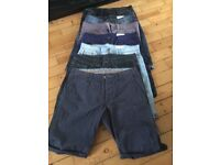 """COLLECTION OF MENS SHORTS 32"""""""
