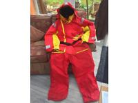 Flotation Suit for the Sea Fisherman (never worn)