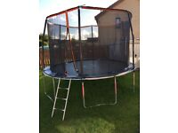 12ft trampoline, bought May 2017
