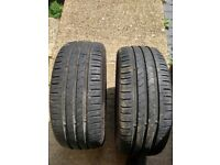 Pair Kumho 195 45 15 Tyres in West London Area