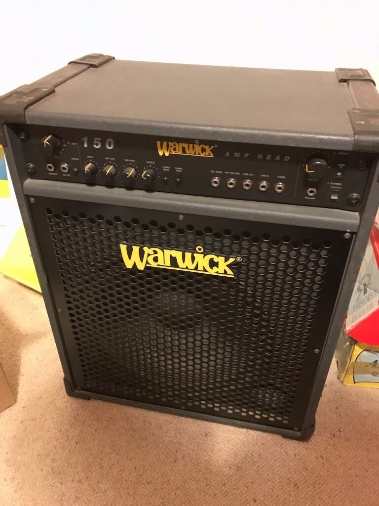 warwick 150 bass amp in trafford manchester gumtree. Black Bedroom Furniture Sets. Home Design Ideas