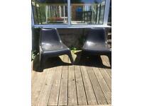 Ikea PS VAGO garden/patio chairs (pair)