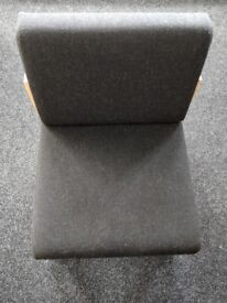 Low Seat Black Reception Chairs | Staff Room Chairs | Waiting Room Seating